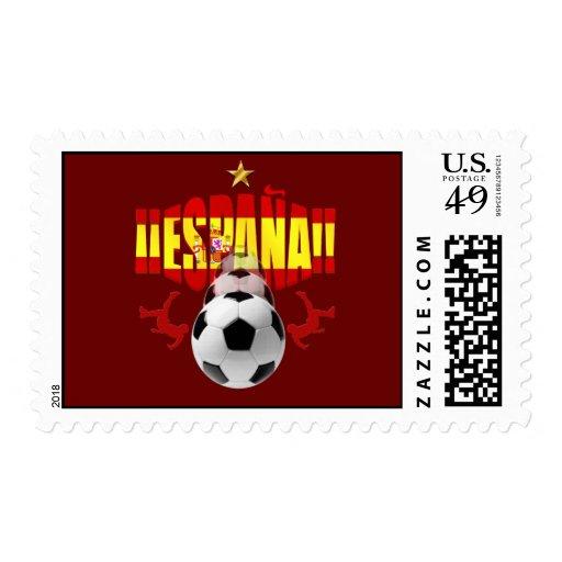 España 2010 One Star Campeones Del Mundo Postage