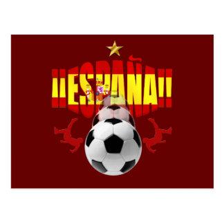 España 2010 One Star Campeones Del Mundo Postcards