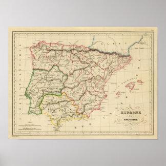 España anterior póster