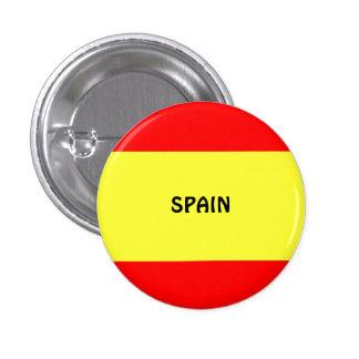 España: Bandera del Pin del botón/de la solapa de