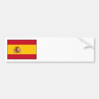 España - bandera española pegatina de parachoque