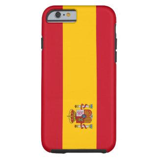 España - bandera española funda de iPhone 6 tough