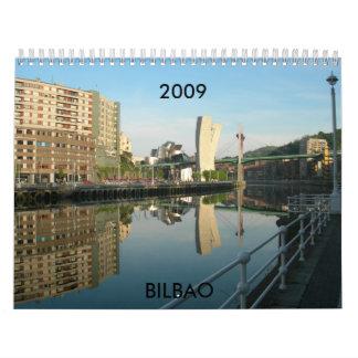 España BILBAO, 2009 Calendario De Pared