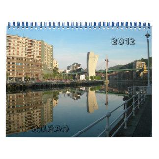 España BILBAO, 2012 Calendarios De Pared