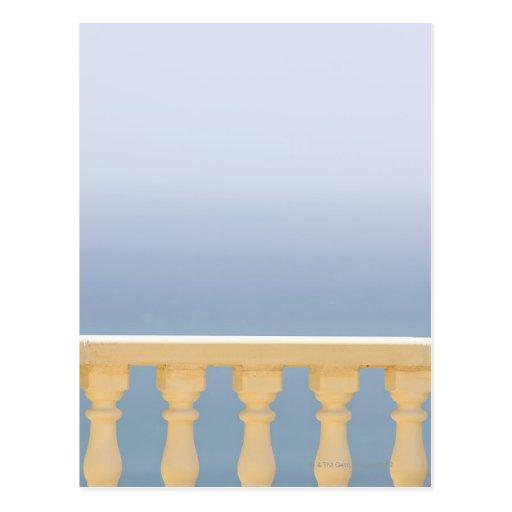 España, Blanca de la costa, vista del mar sobre la Postal