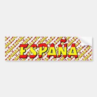 España Bumper Sticker