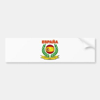 España Campeón del Mundo 2010 -d11 Car Bumper Sticker