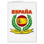 España Campeón del Mundo 2010 -d11 Greeting Card