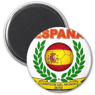 España Campeón del Mundo 2010 - d11 Imán Redondo 5 Cm