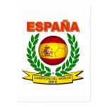 España Campeón del Mundo 2010 -d11 Postcards