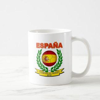 España Campeón del Mundo 2010 - d11 Taza Básica Blanca