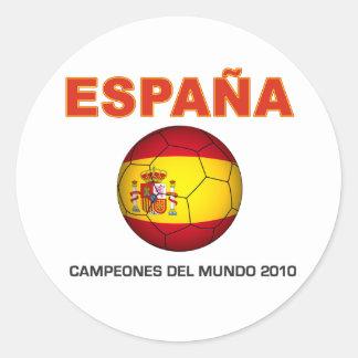 España Campeón del Mundo 2010 Sticker