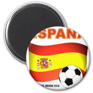 España Campeón del Mundo 2010 Sudáfrica 2 Inch Round Magnet