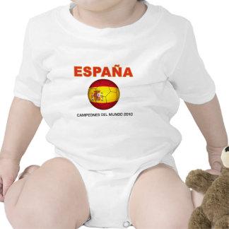 España Campeón del Mundo 2010 Bodysuit