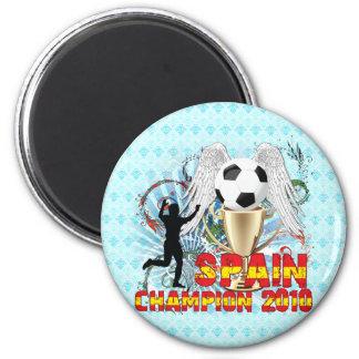 España Campeón Del Mundo 2 Inch Round Magnet