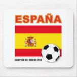 España Campeón del Mundo Alfombrillas De Raton