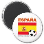 España Campeón del Mundo Imán Redondo 5 Cm
