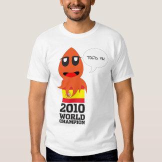 España Campeón del Mundo T Shirt