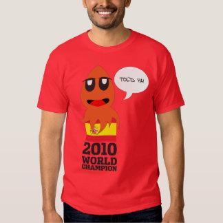 España Campeón del Mundo Tee Shirt
