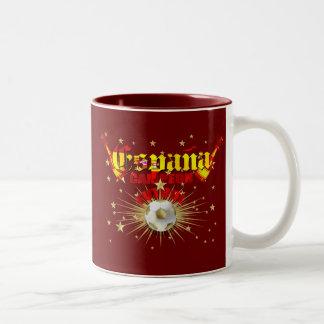 España Campeon Futbol gifts Two-Tone Coffee Mug