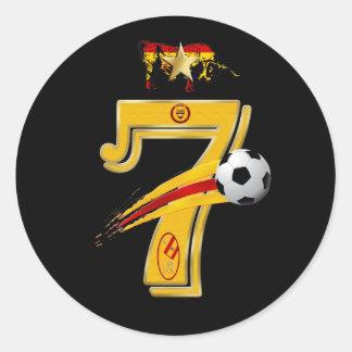 España Campeones Del Mundo 7 Stickers