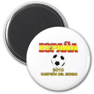España Campeones del Mundo t-shirt 2010 2 Inch Round Magnet