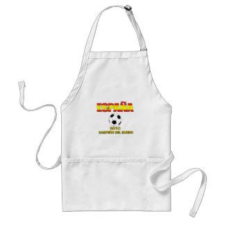 España Campeones del Mundo t-shirt 2010 Adult Apron