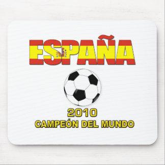 España Campeones del Mundo t-shirt 2010 Mousepads