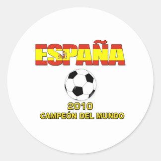 España Campeones del Mundo t-shirt 2010 Stickers