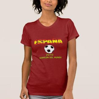 España Campeones del Mundo t-shirt 2010