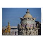 España, Cataluña, Barcelona. Top del tejado de Bar Tarjetas