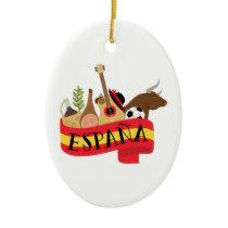Espana Ceramic Ornament