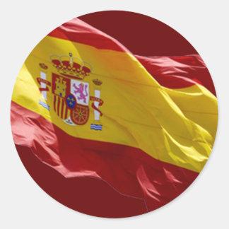 Espana Classic Round Sticker