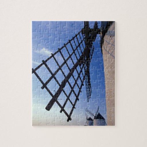 España, Consuegra, molinoes de viento de Mancha de Puzzle