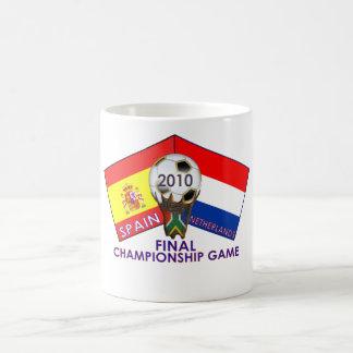 España contra la taza final holandesa del campeona