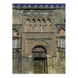España, Córdoba, Moorish Mezquita (mezquita). Postal
