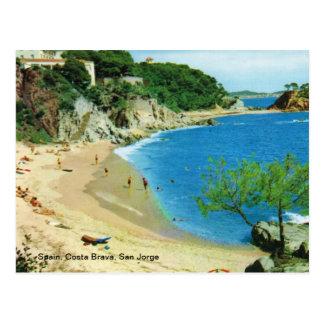 España, costa Brava, San Jorge Postal