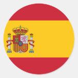 España ES Pegatina Redonda