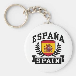 Espana España Llavero Redondo Tipo Pin