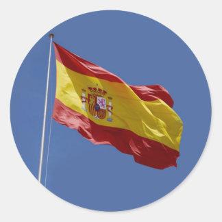 Espana Etiquetas Redondas