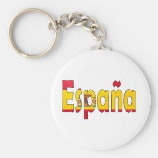 España Flag Keychain