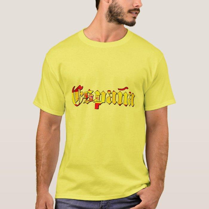 Espana flag logo - flag of Spain España logo T-Shirt