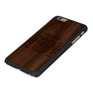 España Funda De Nogal Carved® Para iPhone 6 Plus