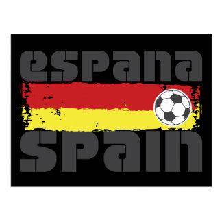 Espana Futbol Postcard
