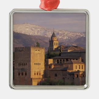 España, Granada, Andalucía Alhambra, 2 Ornamentos De Navidad