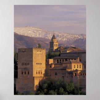 España, Granada, Andalucía Alhambra, 2 Impresiones