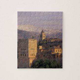 España, Granada, Andalucía Alhambra, 2 Puzzle Con Fotos