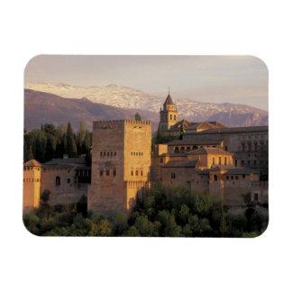 España, Granada, Andalucía Alhambra, Imanes Rectangulares