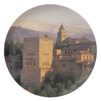 España, Granada, Andalucía Alhambra, Plato