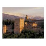 España, Granada, Andalucía Alhambra, Postales